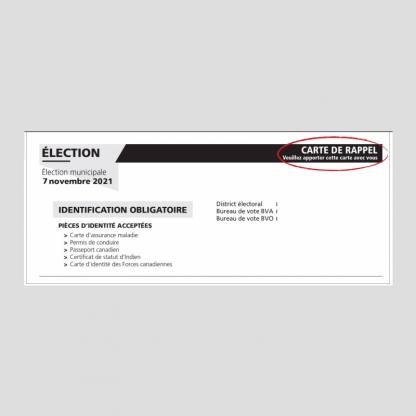 Carte d'électeur